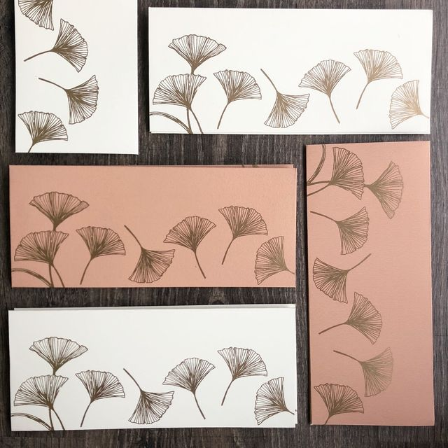 Ginko Money Envelope Set