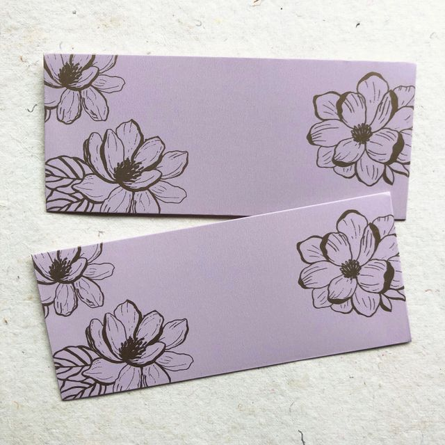 Magnolia Bloom Money Envelope Set