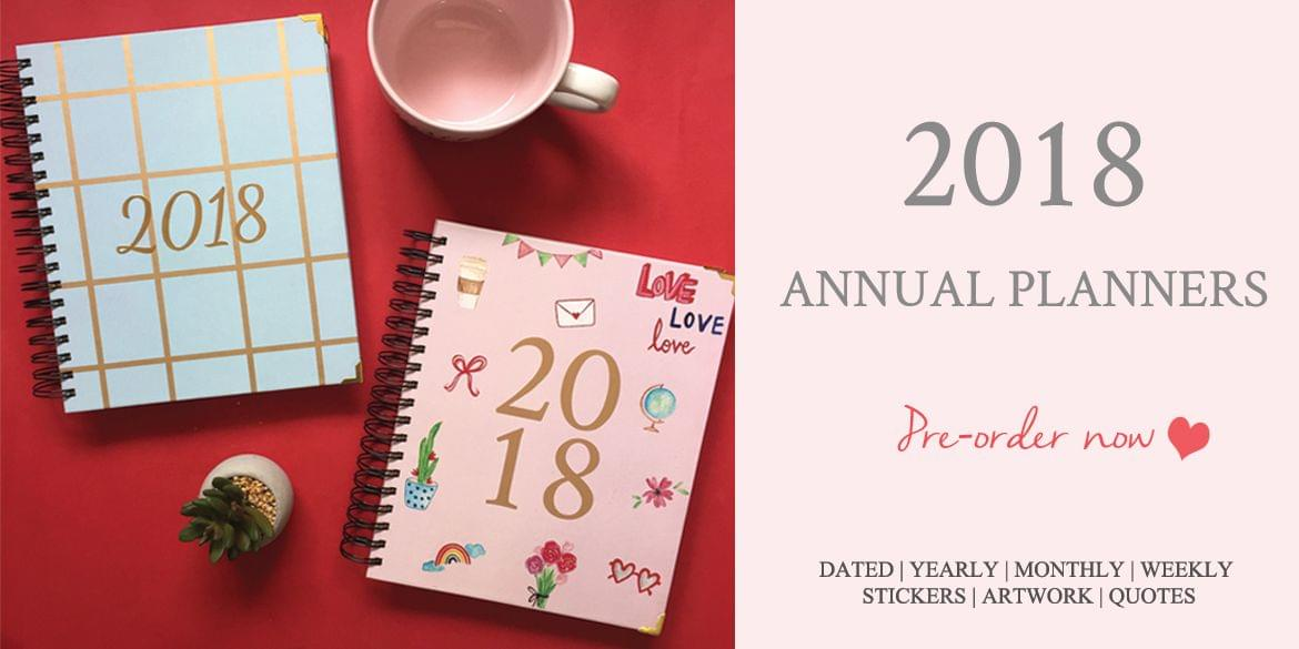 2018 Annual Planner