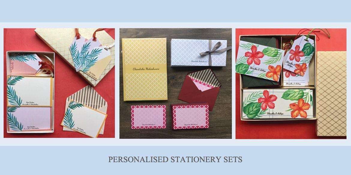 Personalised Stationery sets