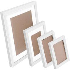 26 pcs Photo Frames Set Wall White