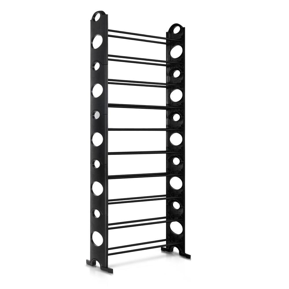 10 Tiers Stackable Shoe Storage Rack-155CM