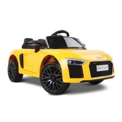 Kids Ride On Car Yellow