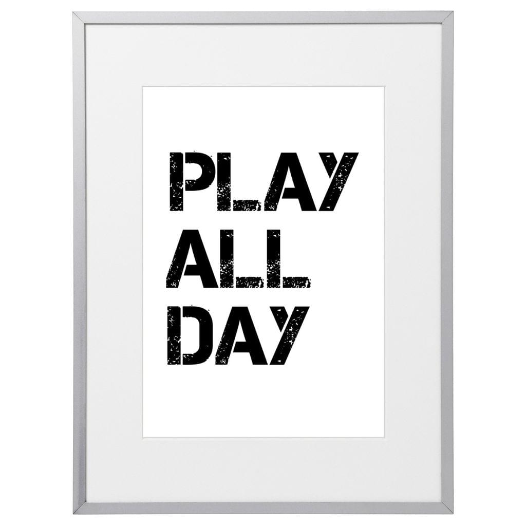 Play All Day Kids (210 x 297mm, No Frame)