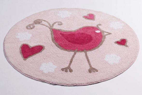 Jiggle Giggle Tweetie Bird Kids Large Round Floor Rug