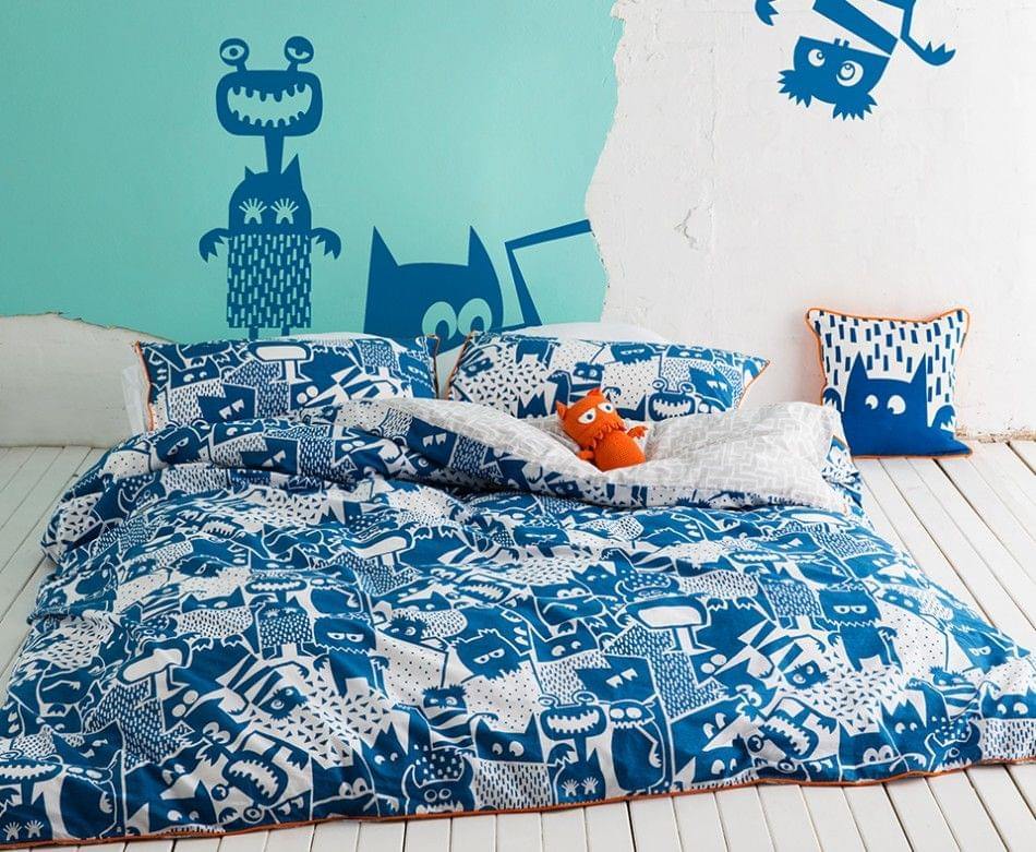 Howie Double Quilt Cover Set by Kas Kids