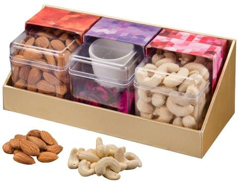 VSD Luxury Natural Dry Fruit Festive Gift Pack 200 Gm Each