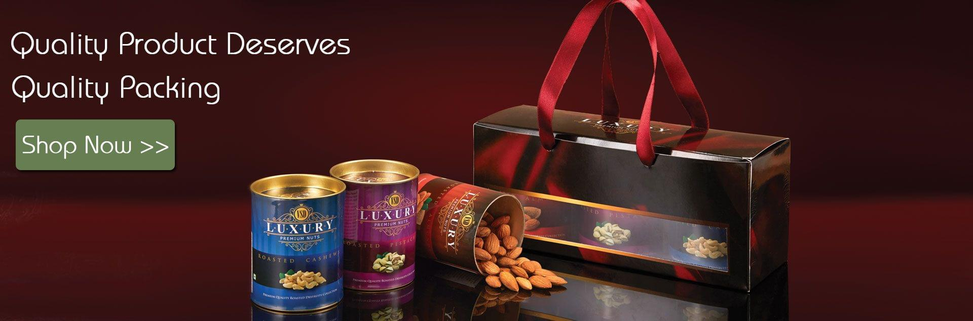Festive Dry Fruit Gift Pack