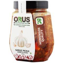 ORUS GARLIC PICKLE |limitTo:2