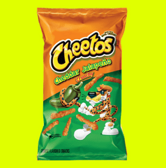 Cheetos Cheddar Jalapeno |limitTo:2