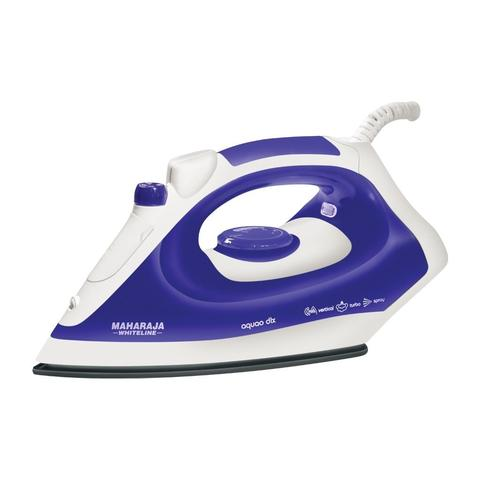 Maharaja Whiteline Steam Iron AQUAO DELUXE Steam Iron White