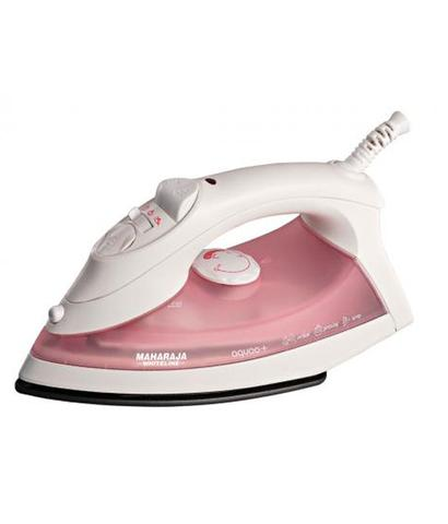 MAHARAJA WHITELINE Aquao plus Steam Iron pink