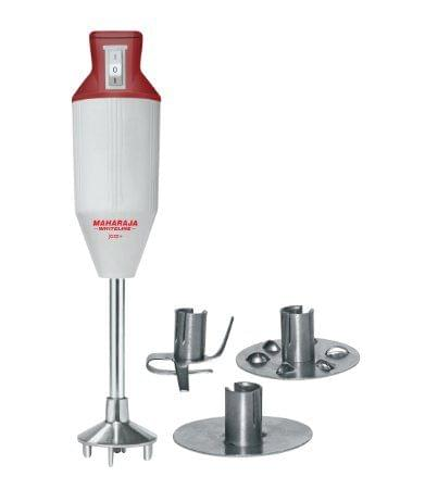 Maharaja Whtieline Hand Blender JAZZ PLUS HAPPINESS Hand Blenders Red & White HB-104
