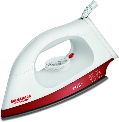 Maharaja Whiteline EASIO DI-104 Dry Iron(White & Red)