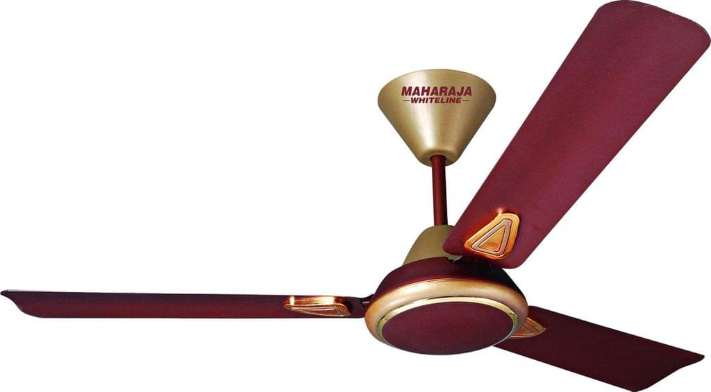 Maharaja Whiteline Opal 70-Watt Ceiling Fan (Coffee Brown)