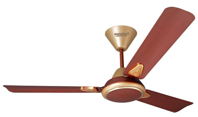 Maharaja Whiteline Opal 70-Watt Ceiling Fan (Golden Brown)