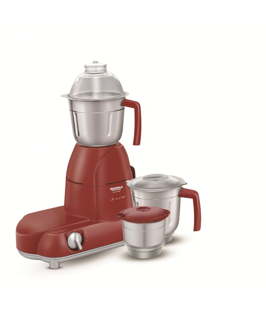 Maharaja Whiteline Mixer Grinder Smart Chief Red Treasure MX-101