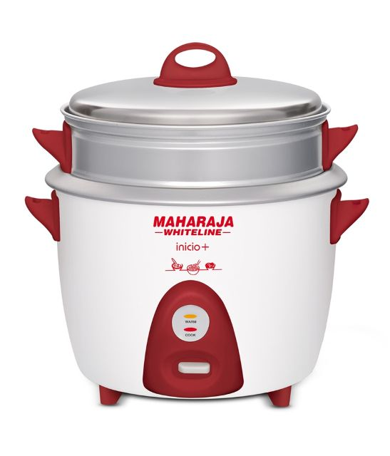 Maharaja Whiteline 1.8 Ltr Rice Cooker Inicio Plus Electric Cooker