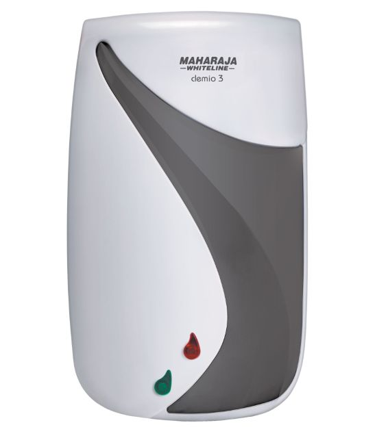 Maharaja Whiteline 3 Litres Clemio Water Heater White And Grey WH-111