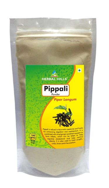 Pippali Root Powder - 100 gms powder