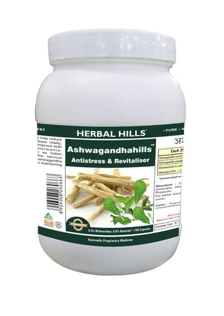 Ashwagandhahills - Value Pack 700 Capsule
