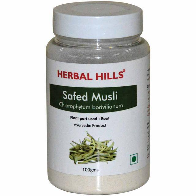Safed Musli powder - 100 gms powder