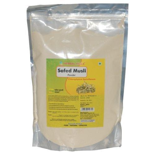 Safed Musli powder - 1 kg powder