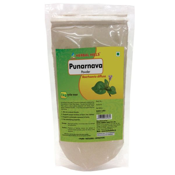 Punarnava Powder - 1 kg powder