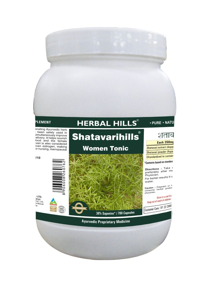 Shatavarihills  - Value Pack 700 Capsule