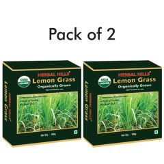 Lemongrass - 100 gms Dried Leaves