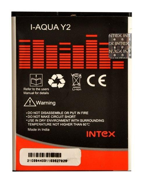 Intex Aqua Y2 Battery
