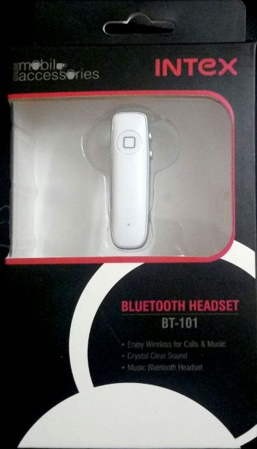 Intex Bluetooth Handsfree BT-101 White