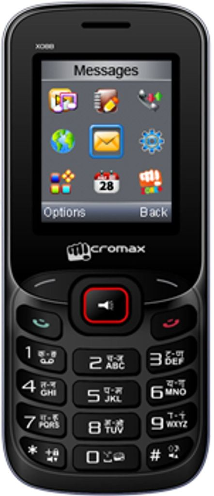 Micromax X088(Black and Silver)
