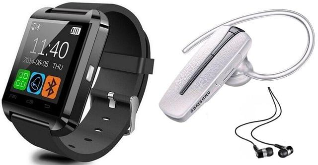 SMART WATCH WITH SAMSUNG BLUETOOTH