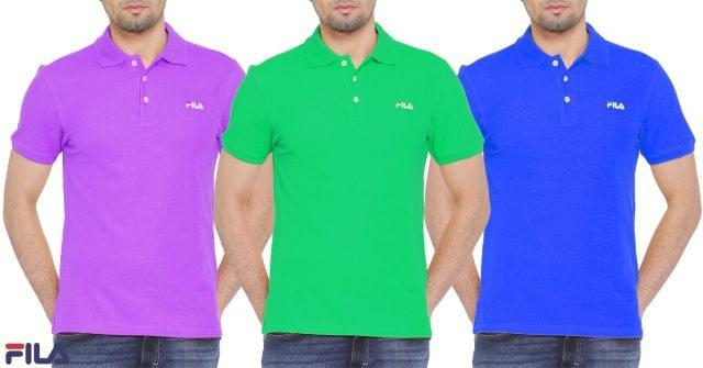 Combo of 3 branded Color Tshirts