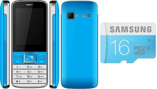 Combo Of multimedia Mobile with samsung 16 Gb Card