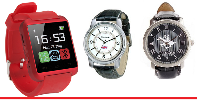 Smart Watch with 2 branded watch