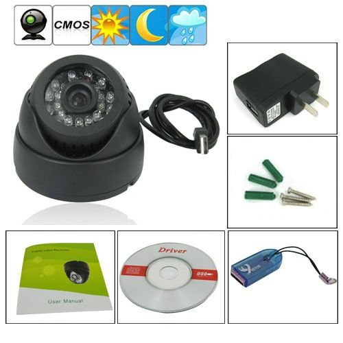 FIRK  Card Digital Video Recorder Cctv Security Dome Camera Intelligent Detection