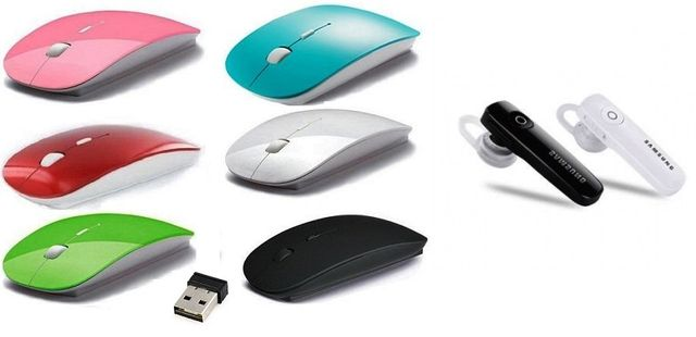 Bluetooth Mouse With Samsung Bluetooth