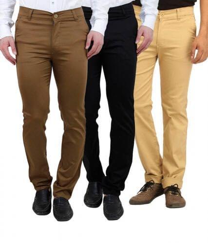 Pack of 3  Chinos for Men