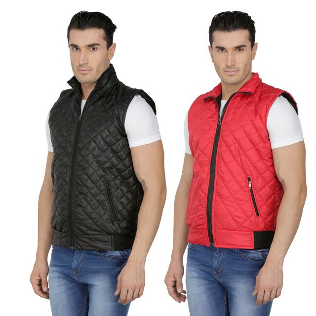 Pack of Two Sleeveless Jackets