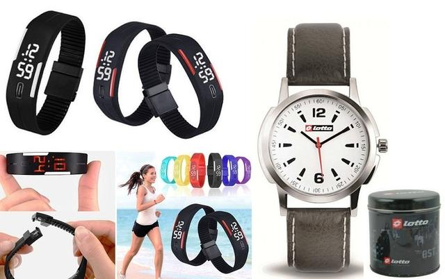 Branded lotto Watch With Led Watch