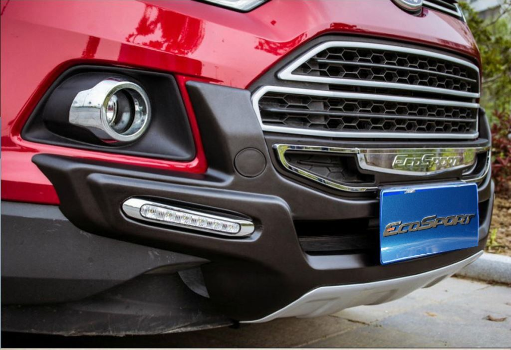 Ford Ecosport - Front & Rear Bumpers with Guard with DRL