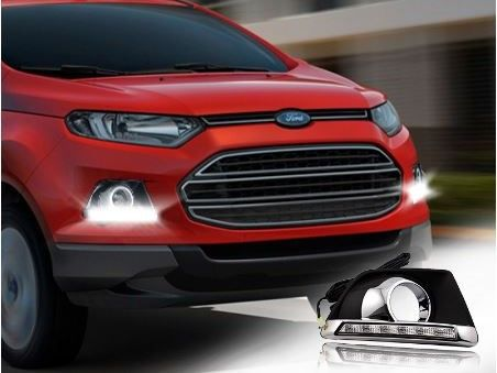 Ford Ecosport - DRL with Chromium FOG Lamp cover