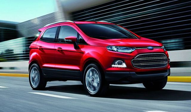 Ford Ecosport - Exclusive DRL with Chromium FOG Lamp cover