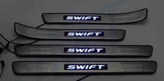 Suzuki Swift 2007 to 2011- Premium model Illuminated Scuff plate