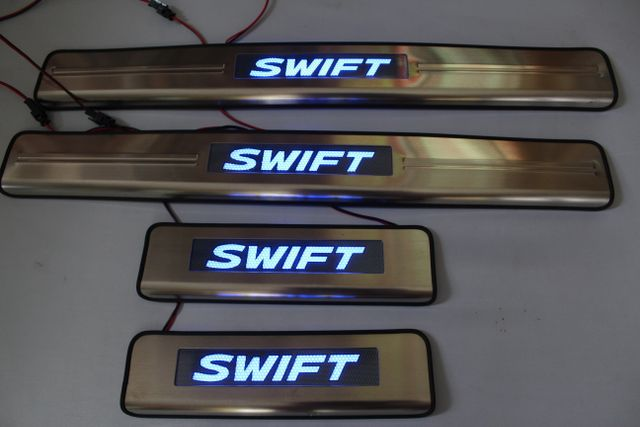 Suzuki Swift 2012 to 2016- Premium model Illuminated Scuff plate
