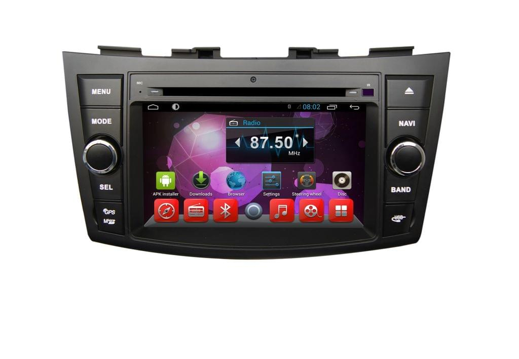 Suzuki Swift - 7 inch Android Touch screen infotainment system with DVD, GPS Navigation, etc...