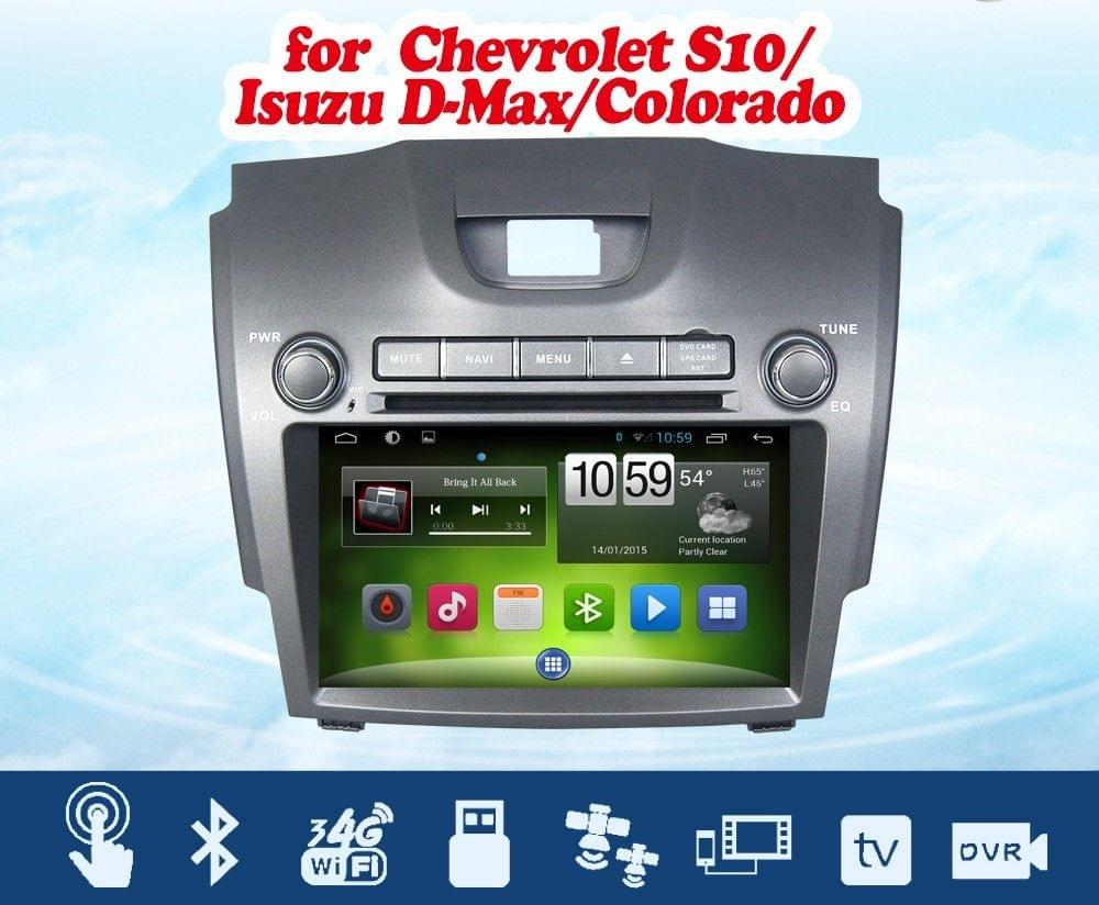 "Trailblazer - 8"" HD Android Touch screen infotainment system with DVD, GPS Navigation, etc..."