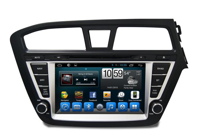 """Hyundai i20 - 8"""" Touch screen infotainmenet system - Android - Quad Core - Car DVD GPS Navigation"""